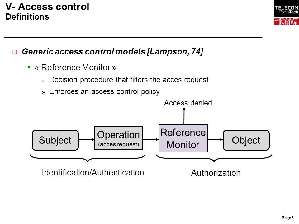 Page 44 IV- Fonctions de sécurité 3.