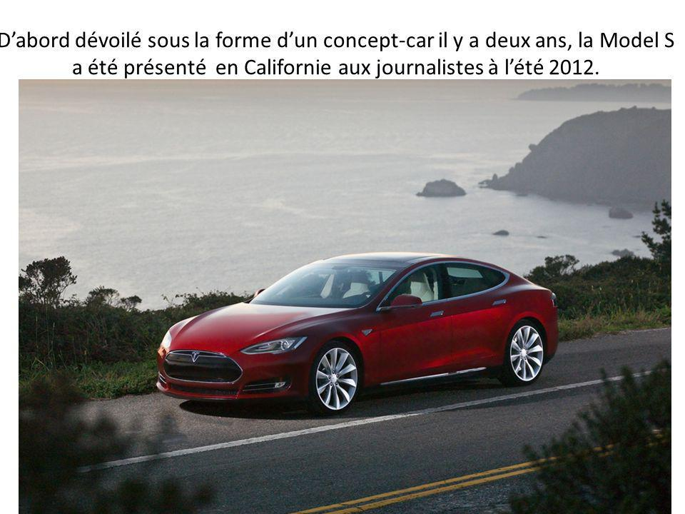100% électrique Vendue dès 2012 aux États-Unis et à l'été 2013 en France, la berline Model S est 100% électrique, propose des moteurs de 302 à 416 CH,