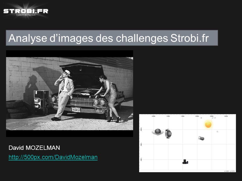 Analyse d'images des challenges Strobi.fr David MOZELMAN http://500px.com/DavidMozelman
