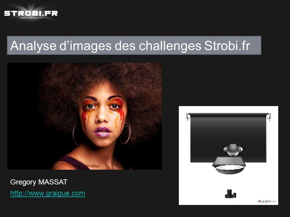 Analyse d'images des challenges Strobi.fr Gregory MASSAT http://www.graigue.com