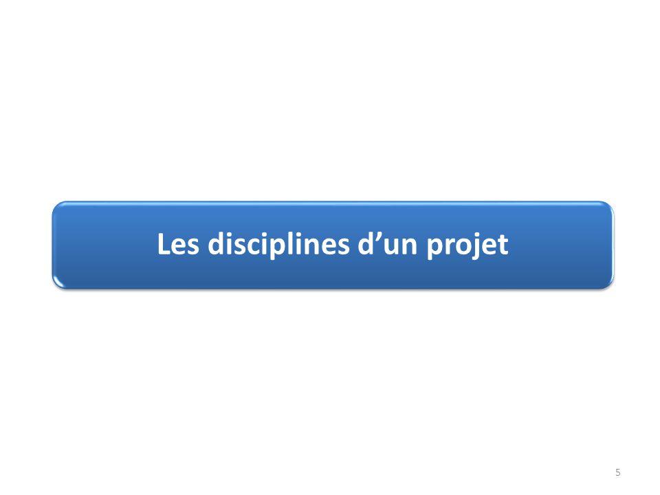 Les disciplines d'un projet 5