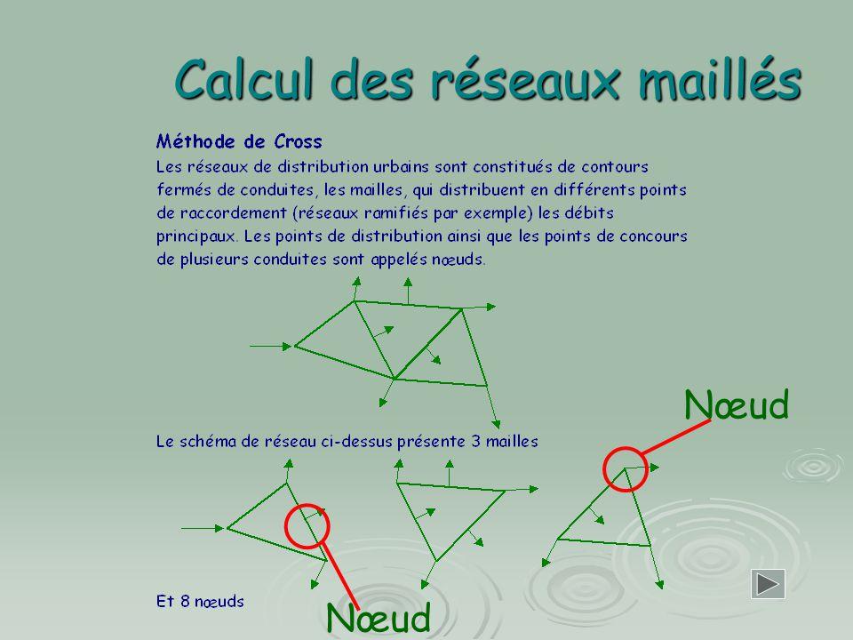 Calcul des réseaux maillés Nœud