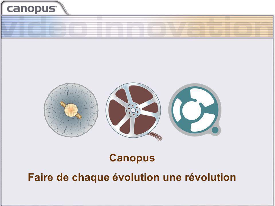 CIM 2003 Brand and Strategy Canopus Faire de chaque évolution une révolution