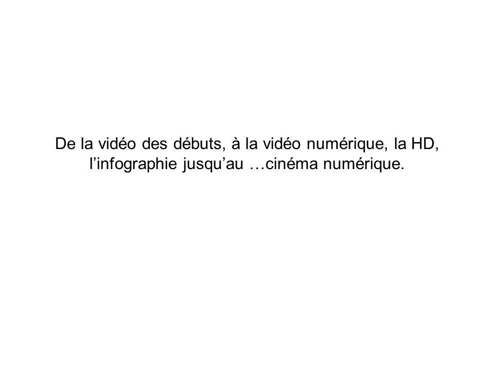 Signaux HD et D-Cinema La TVHD La normalisation Cinéma Numérique Signaux 2K et 4K du DCI