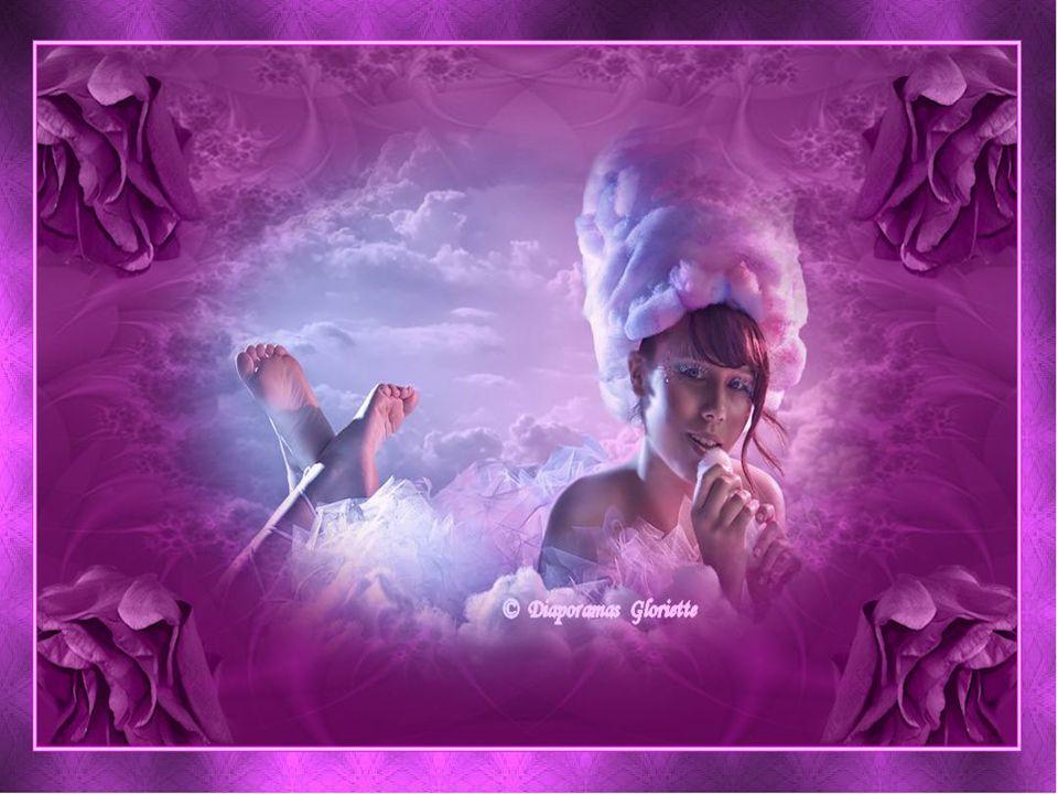 J'aimerais voyager sur un nuage Et dissiper tous les gros orages Sans toutes les exigences du cœur Et m'endormir entourée de fleurs… Ginette