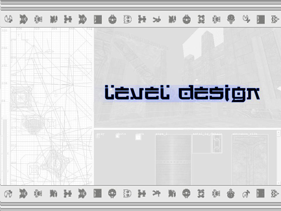  Level Design processus dans la création du jeu video, qui s occupe de la réalisation des niveaux.