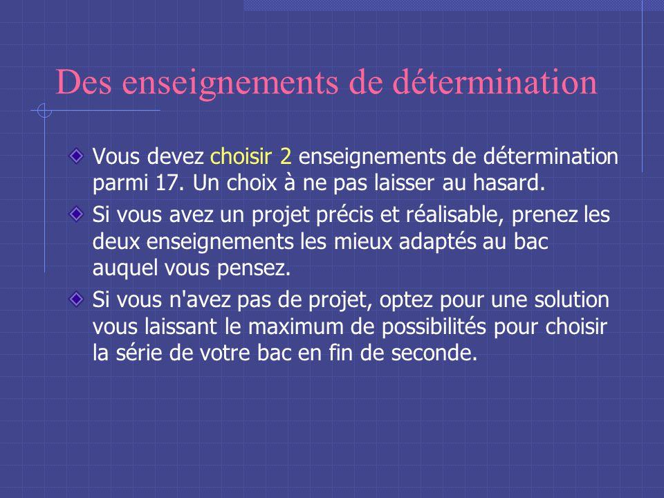 Des enseignements communs français, mathématiques, histoire-géographie, physique-chimie, langue vivante (LV1), sciences de la vie et de la Terre (SVT)