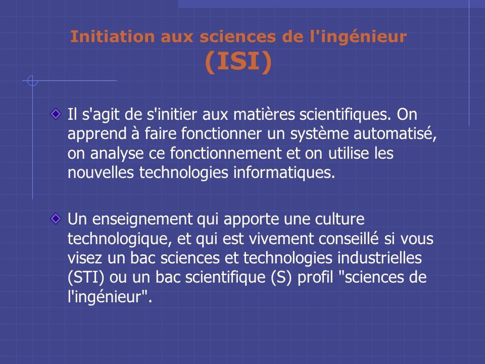 Concrètement Ce qui est proposé au Lycée Pierre Mendès France. A partir d'un parcours SVT ou Technologique, un couplage d'options et possible en class