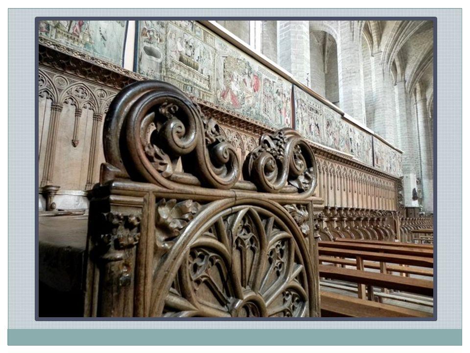 Gisant du pape Clément VI dans l abbatiale de la Chaise-Dieu