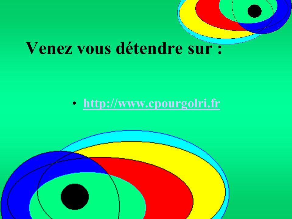 Venez vous détendre sur : http://www.cpourgolri.fr