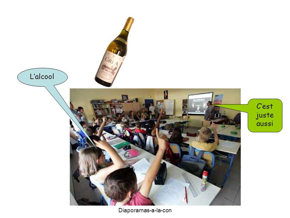 Diaporamas-a-la-con L'alcool C'est juste aussi