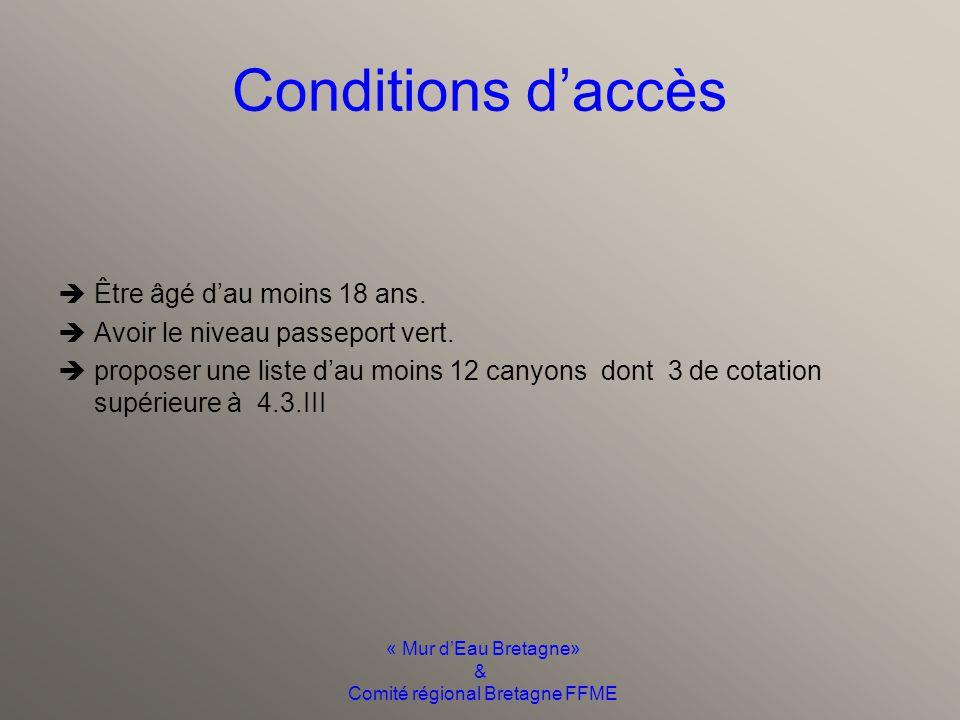 « Mur d'Eau Bretagne» & Comité régional Bretagne FFME Déroulement du stage Dates Lieux Tarifs Du 17 au 22 juin 2013 Escalona (Mont perdu) 360E (repas