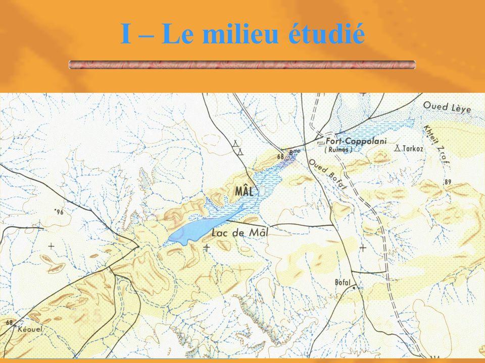 5 I – Le milieu étudié Le Sahel est une zone mobile qui couvre 5 millions de km². Situation de la Mauritanie.
