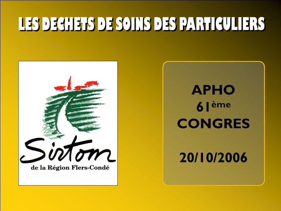 APHO 61 ème CONGRES 20/10/2006