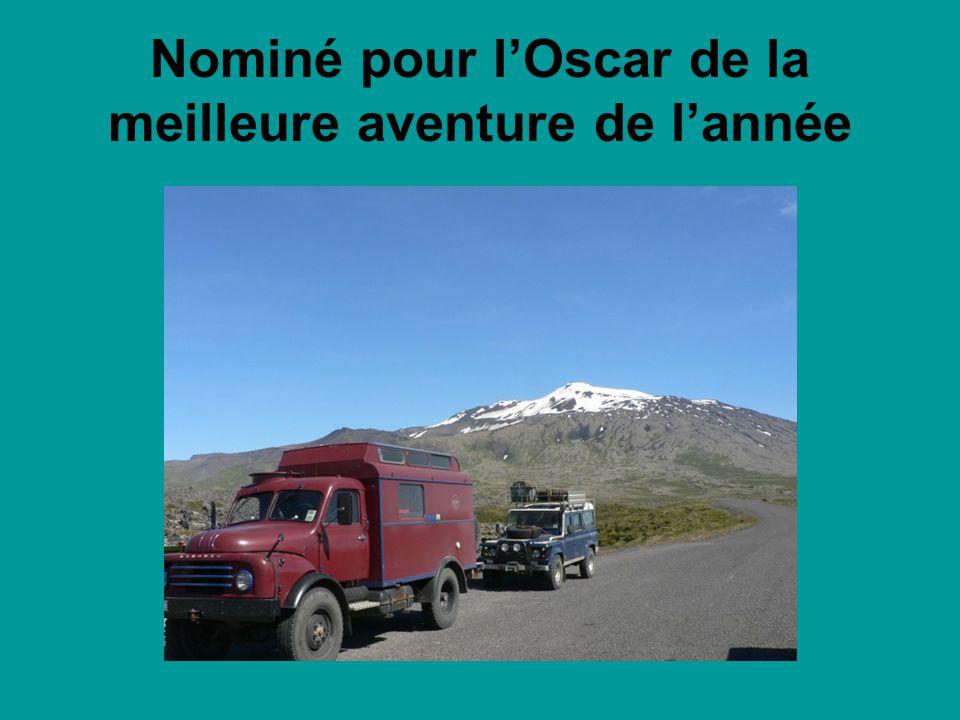 Nominé pour l'Oscar de la meilleure aventure de l'année