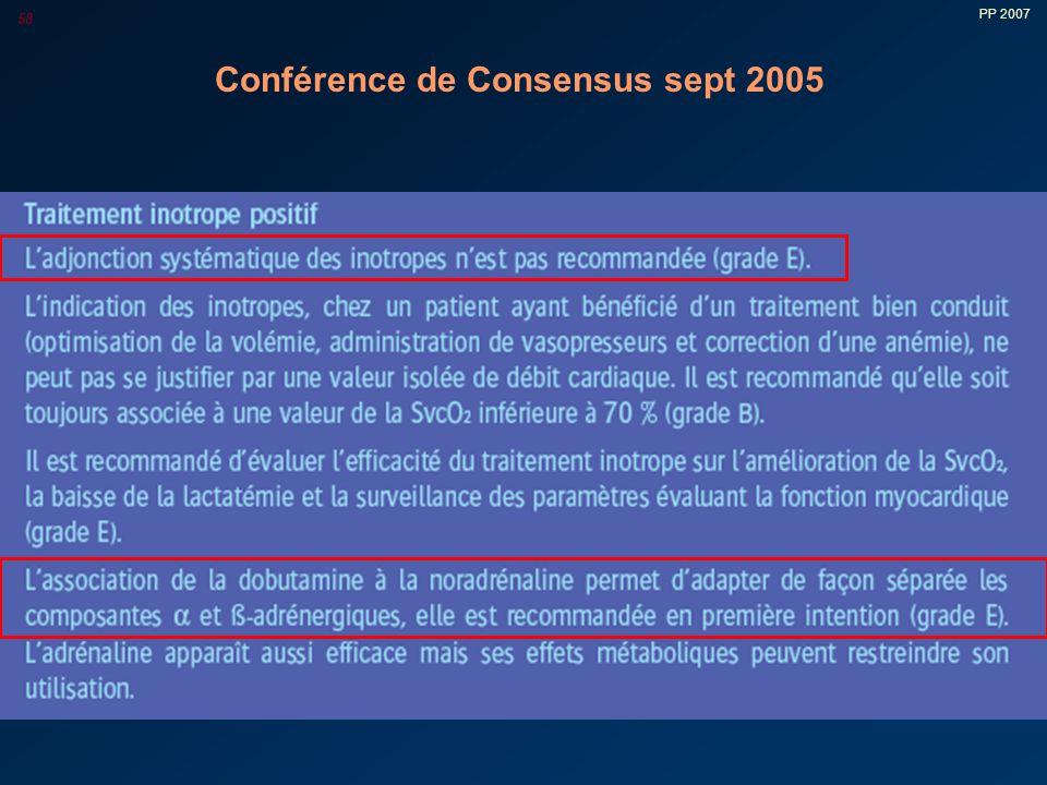 PP 2007 58 Conférence de Consensus sept 2005