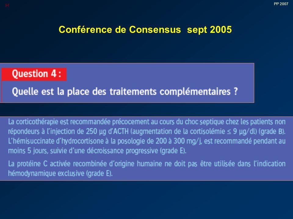 PP 2007 94 Conférence de Consensus sept 2005