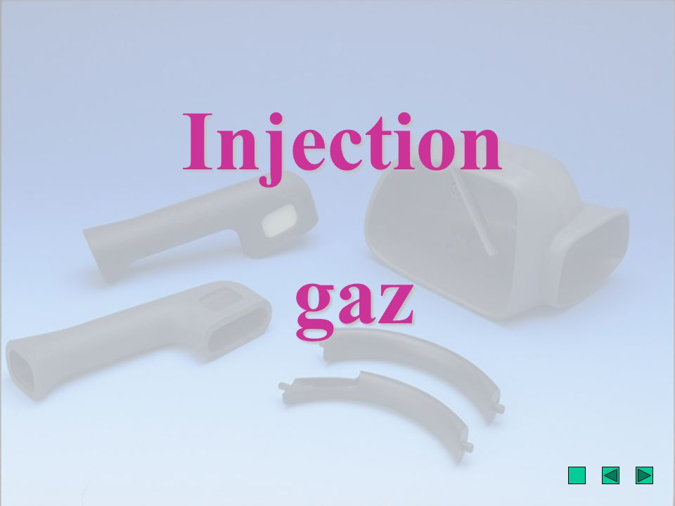 Injection gaz gaz