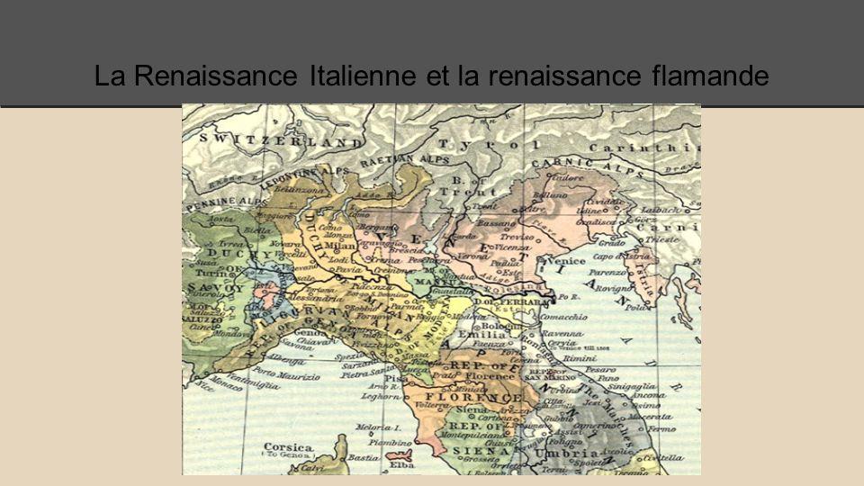Les images de l'art de la Renaissance italienne et la Renaissance du nord…. Les différences?