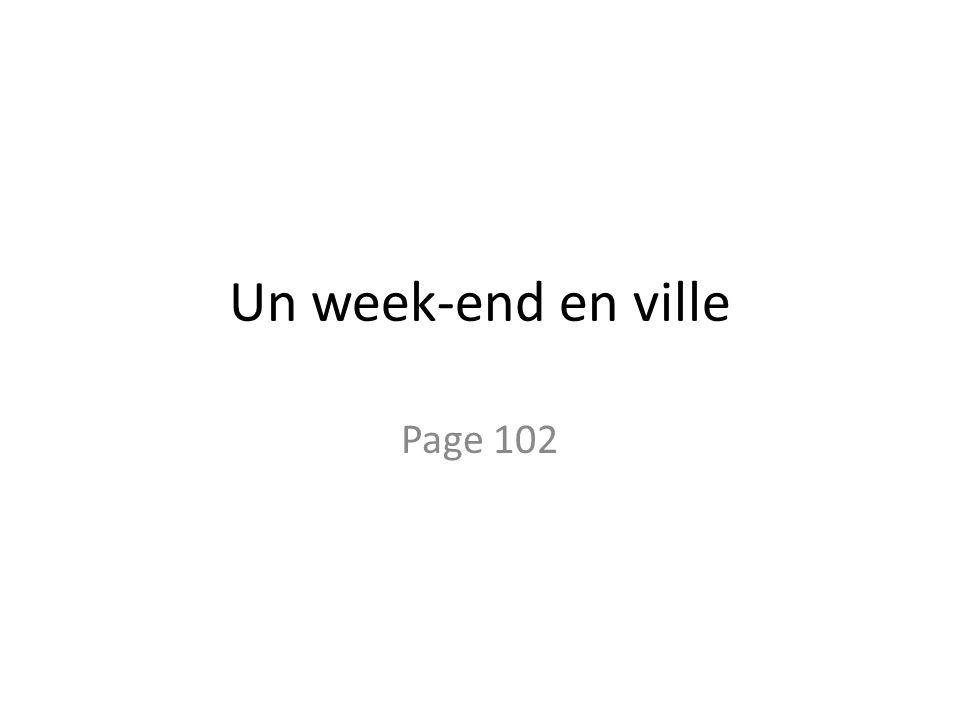 Un week-end en ville Page 102