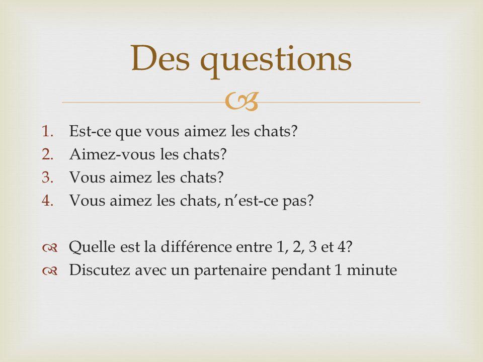  Comment former des questions…  Petit b ébé  Flip and dash  Est-ce que…  N'est-ce pas?/Non.
