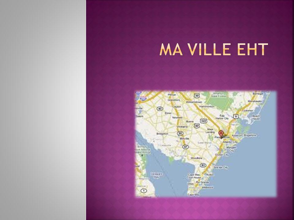 Je m'appelle Briana. J'habite à Egg Harbor Township au New Jersey.