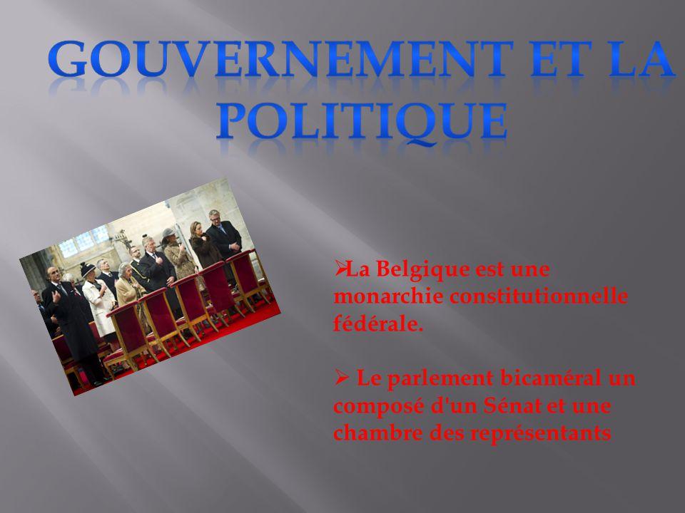  La Belgique est une monarchie constitutionnelle fédérale.