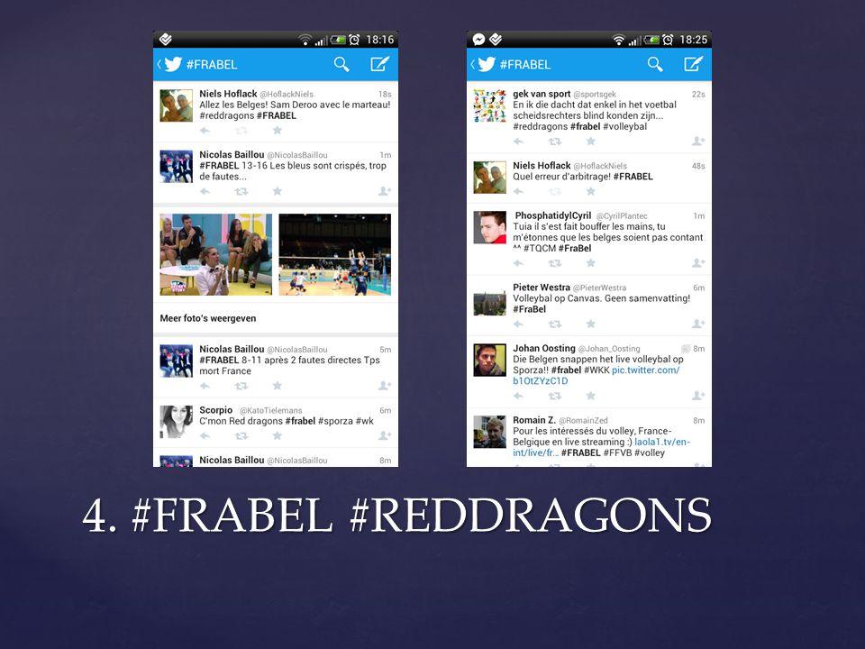 4. #FRABEL #REDDRAGONS