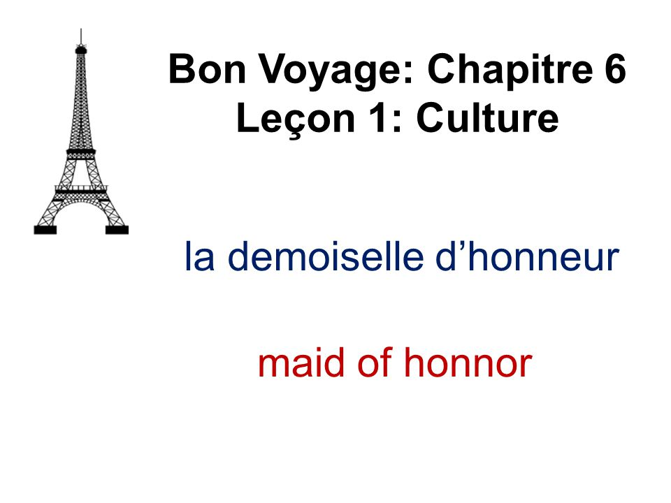 le parvis de l'église Bon Voyage: Chapitre 6 Leçon 1: Culture square in front church