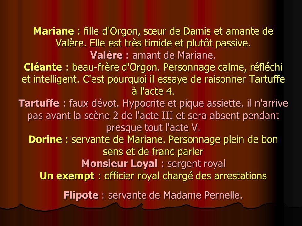 Elmire : femme d Orgon.