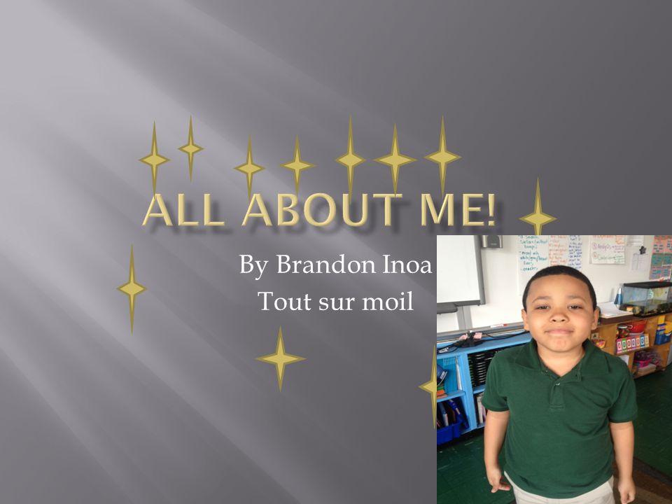 Hello my name Brandon Inoa I am a Student at Journey Prep Bonjour je m' appelle Brandon Inoa Je suis une etudiante a l'ecole Journey Prep