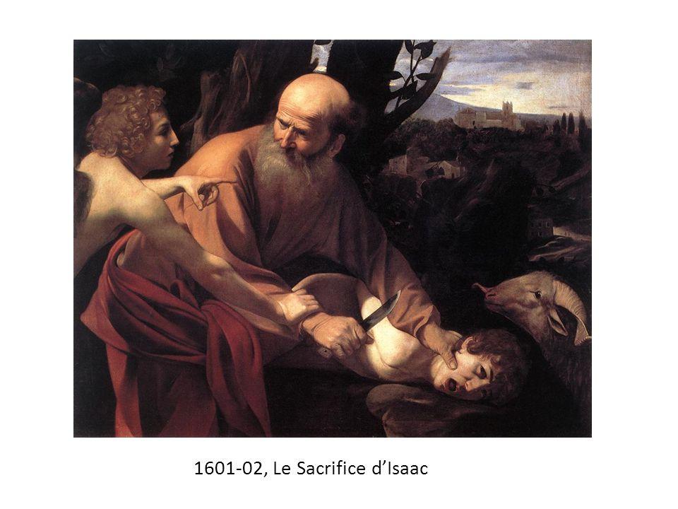 1601-02, Le Sacrifice d'Isaac