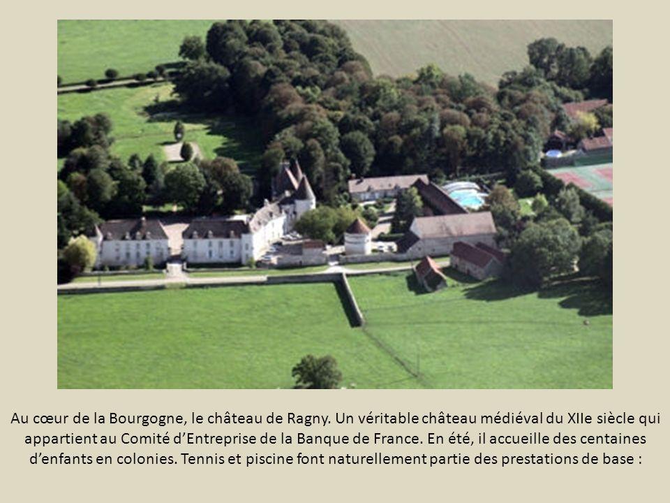 Au cœur de la Bourgogne, le château de Ragny.