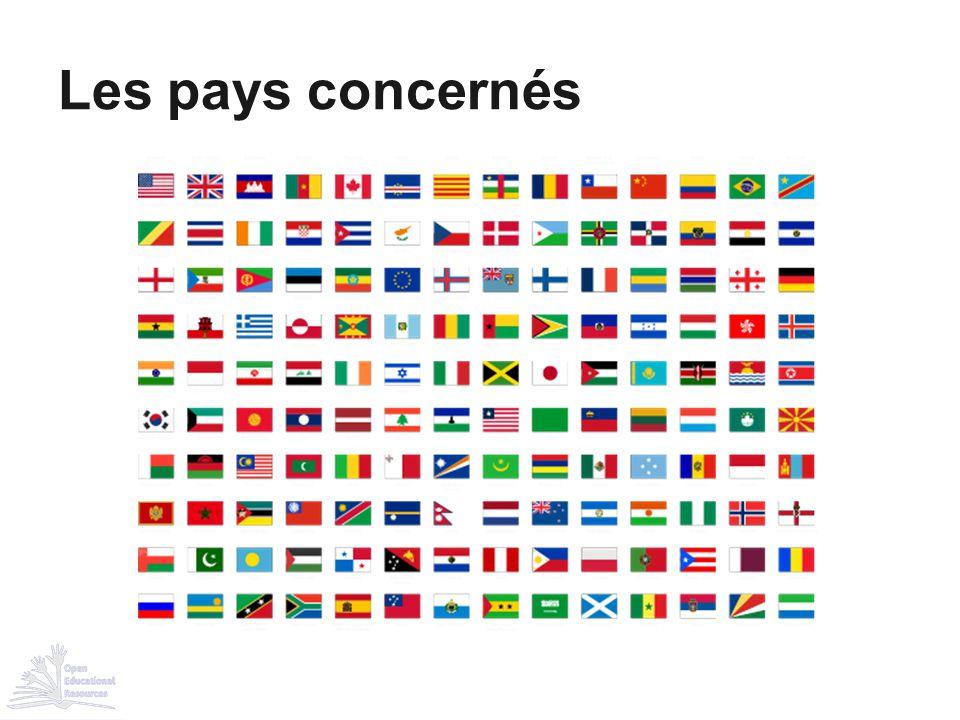 Les pays concernés