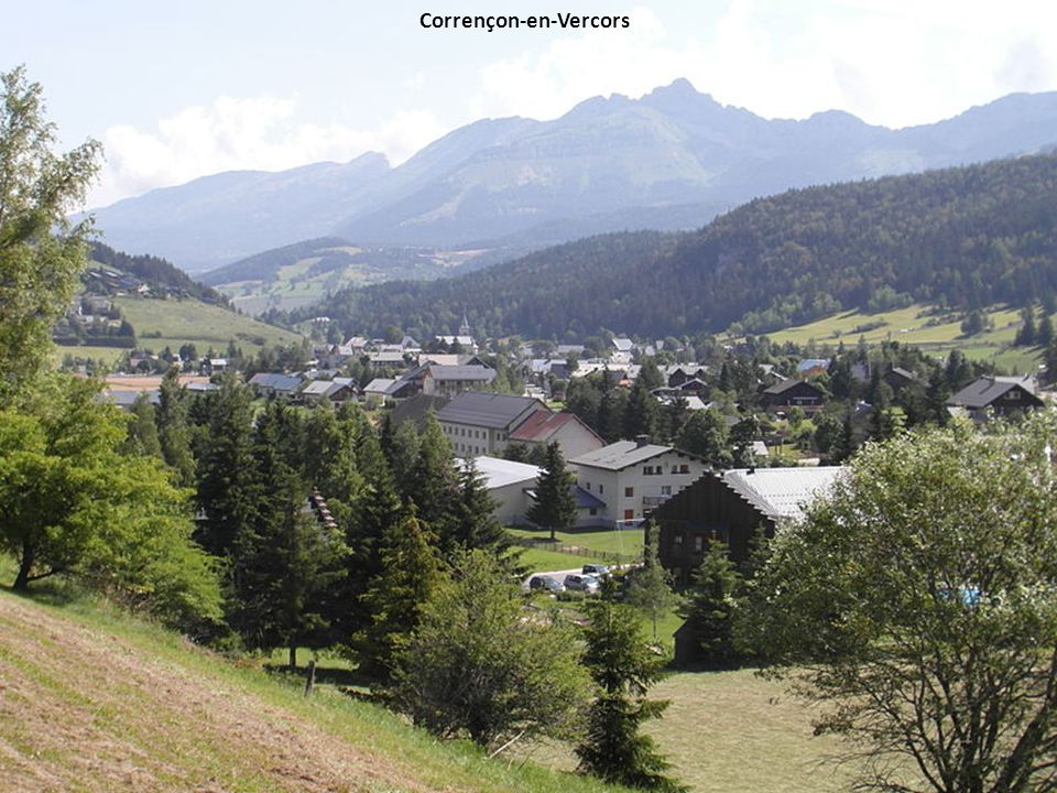 Le balcon de Villard et le hameau des Pouteils