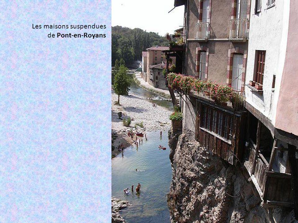 Les gorges de la Bourne, relient Pont-en-Royans à Villard-de-Lans