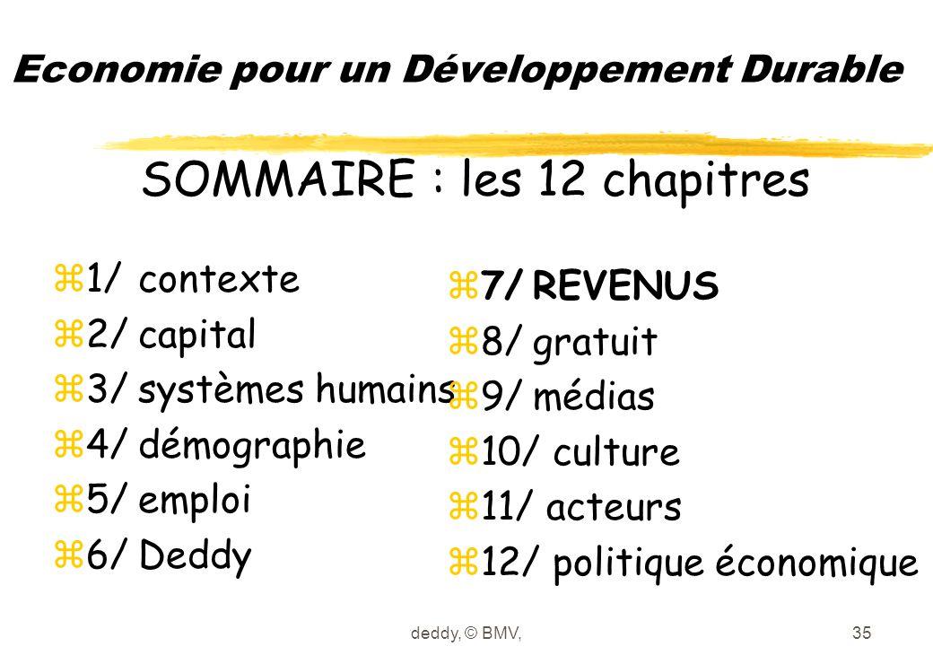 deddy, © BMV,35 Economie pour un Développement Durable z1/contexte z2/capital z3/systèmes humains z4/démographie z5/emploi z6/Deddy z7/REVENUS z8/grat
