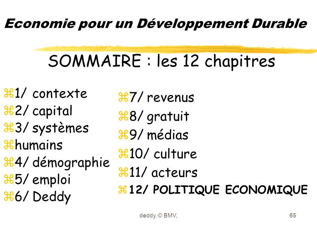 deddy, © BMV,65 Economie pour un Développement Durable z1/contexte z2/capital z3/systèmes zhumains z4/démographie z5/emploi z6/Deddy z7/revenus z8/gra