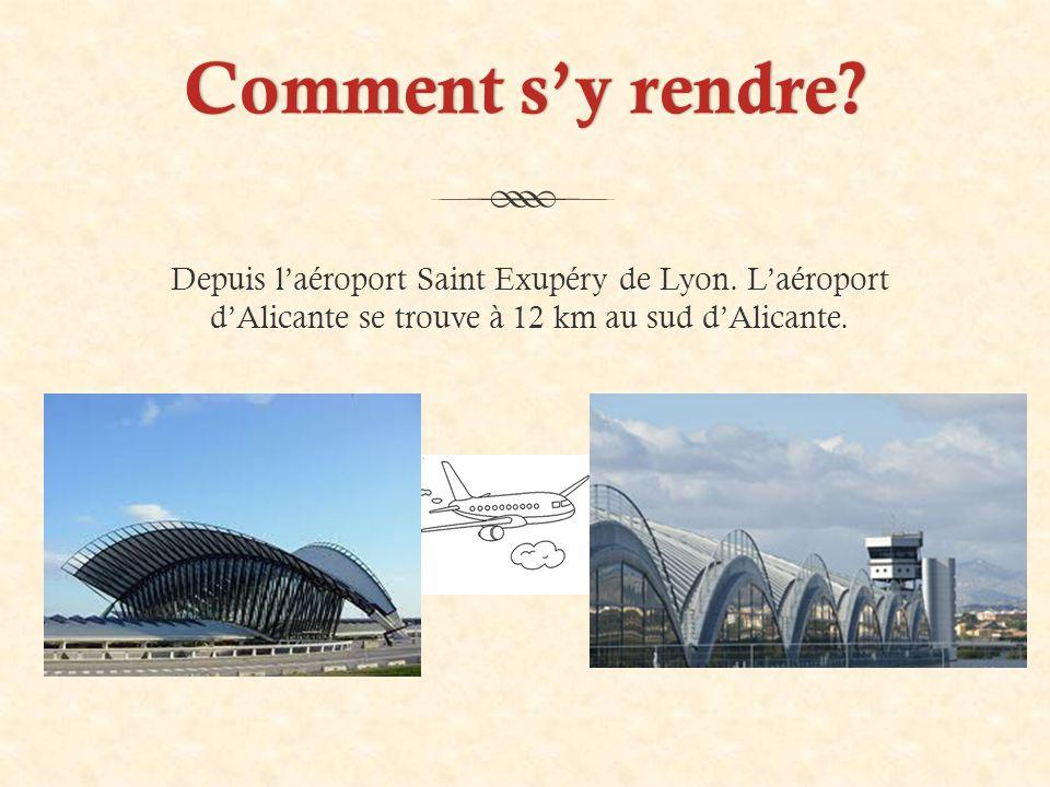 Comment s'y rendre Comment s'y rendre. Depuis l'aéroport Saint Exupéry de Lyon.