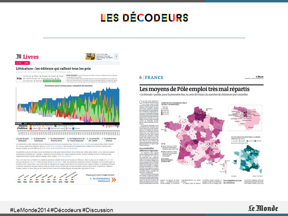 #LeMonde2014 #Décodeurs #Discussion
