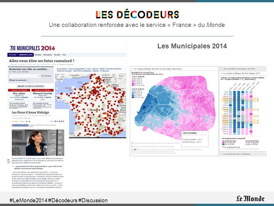 Une collaboration renforcée avec le service « France » du Monde Les Municipales 2014