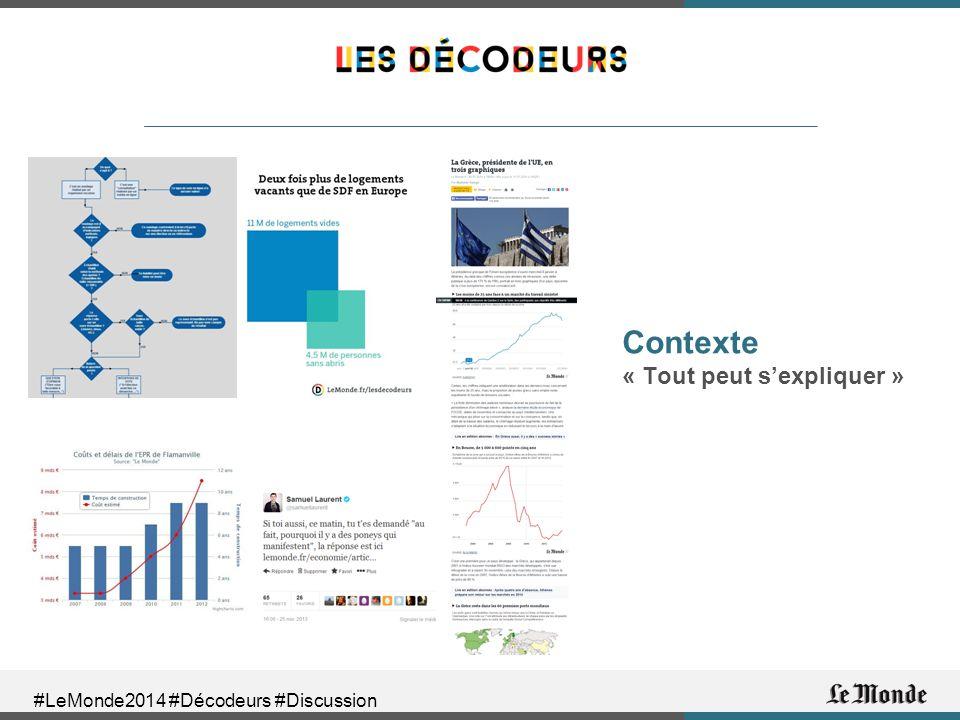 #LeMonde2014 #Décodeurs #Discussion Contexte « Tout peut s'expliquer »
