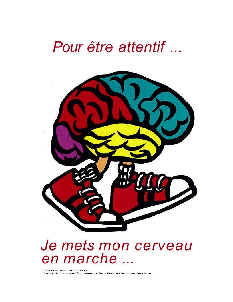 Pour être attentif...Je mets mon cerveau en marche...
