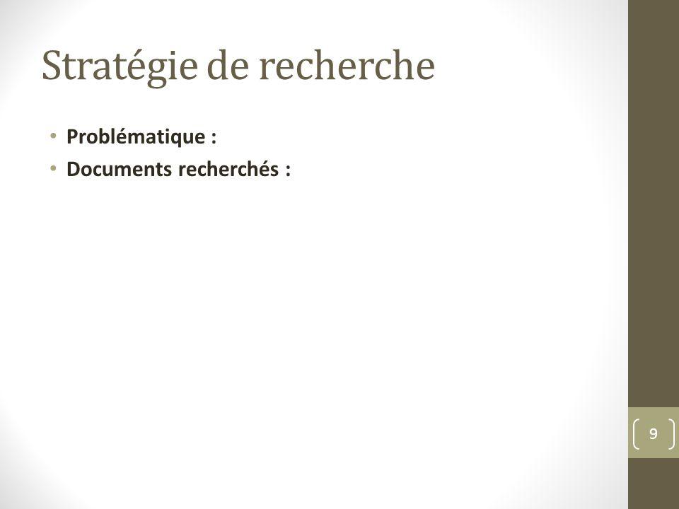 Corpus de documents Document Commentaires : Usage pédagogique : 10