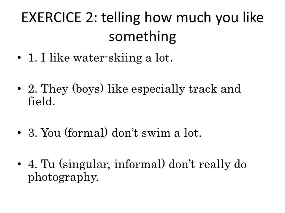 EXERCICE 3: WEATHER 1. Quel temps-fait-il?