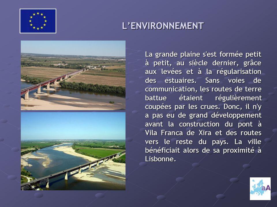 L'ENVIRONNEMENT La grande plaine s est formée petit à petit, au siècle dernier, grâce aux levées et à la régularisation des estuaires.