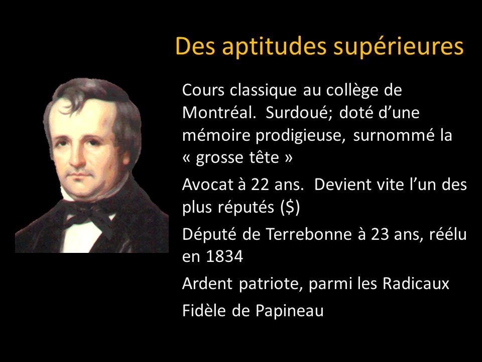 Cours classique au collège de Montréal.