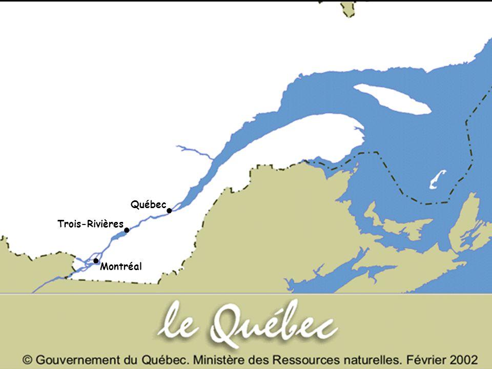Québec Montréal Trois-Rivières ● ● ●