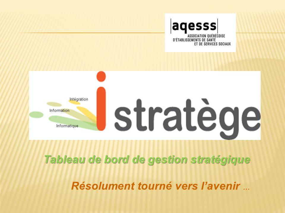 Informatique Information Intégration Tableau de bord de gestion stratégique Résolument tourné vers l'avenir …