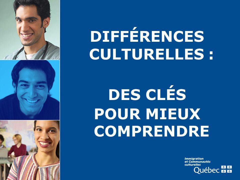 DIFFÉRENCES CULTURELLES : DES CLÉS POUR MIEUX COMPRENDRE